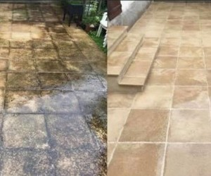 Entretien de façade (avant/après) - Clean Service Renova
